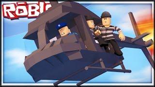 VRTULNÍKEM Z VĚZENÍ!!! - Redwood Prison   Roblox