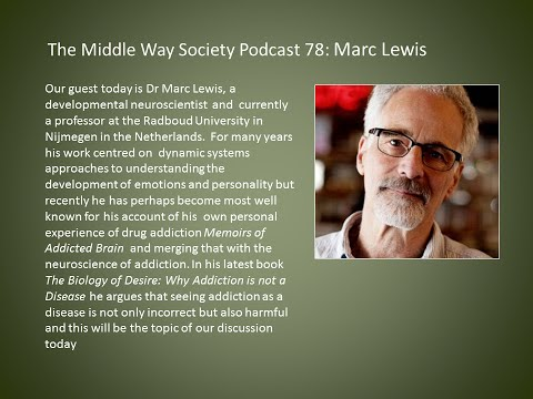 Marc Lewis on why addiction is not a disease