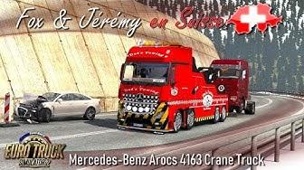 Euro Truck Simulator 2 - MISSION DÉPANNAGE AVEC JÉRÉMY EN SUISSE !