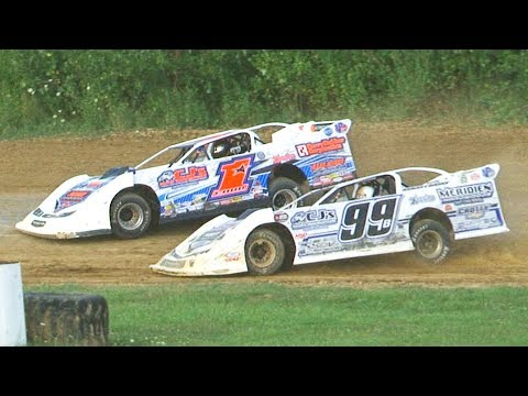 ULMS Super Late Model Heat One | Genesee Speedway | 8-10-19