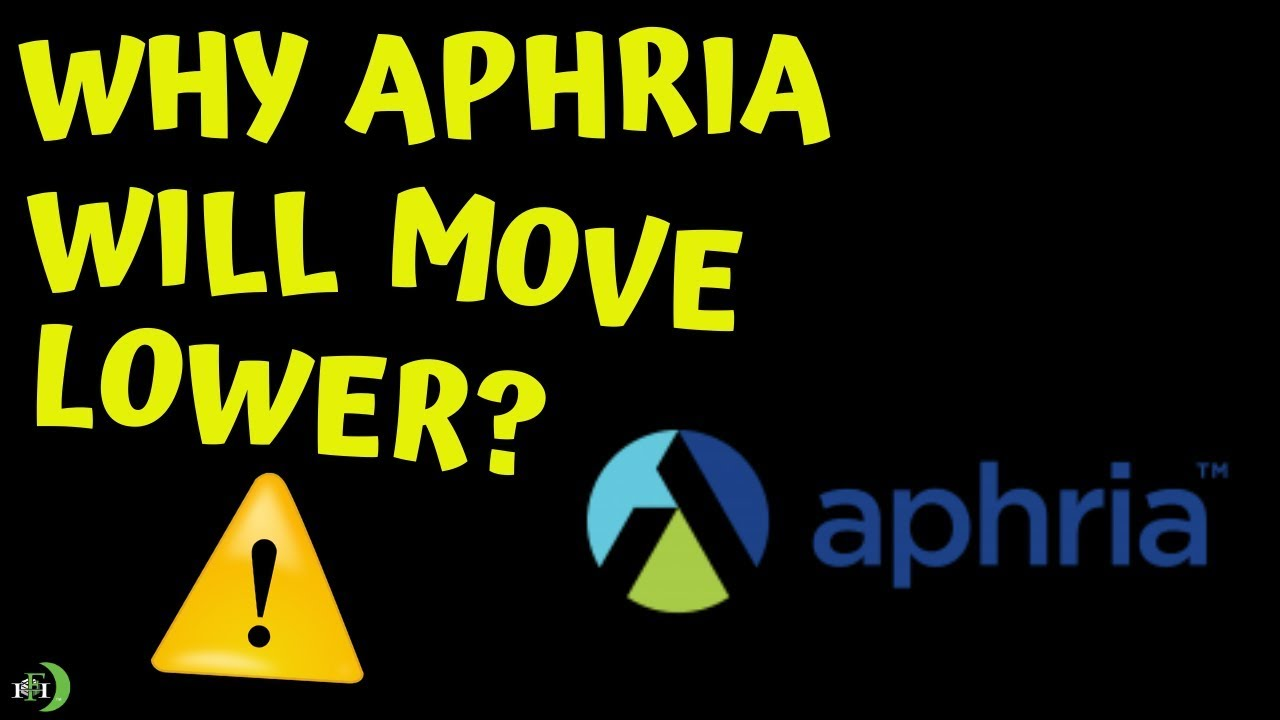 Why Aphria Stock Will Move Lower May 2019 Youtube
