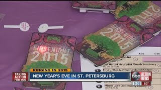 Download Video New Year's Eve celebrations around Tampa Bay including St. Pete's First Night MP3 3GP MP4