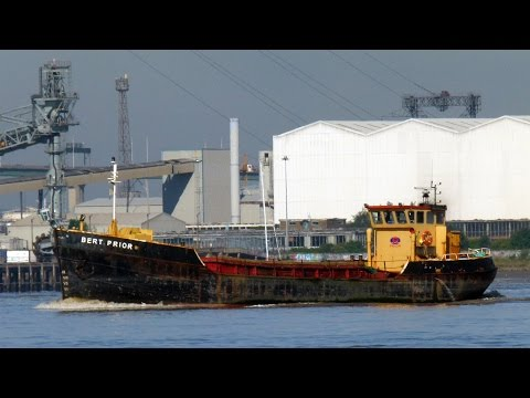 Coastal Shipping on the Thames in August 2013 Part 3