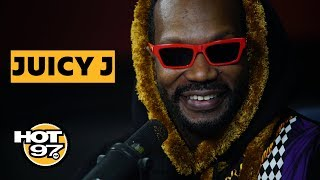 Juicy J On Three 6 Mafia Reunion, Tells The Story Behind 'Slob On My Knob' & Remembers Stan Lee