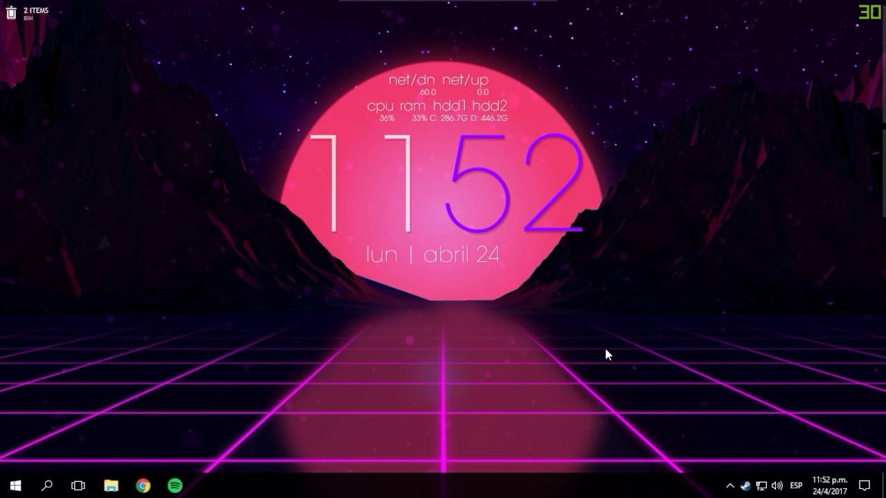 Outrun Wallpaper For Wallpaper Engine Youtube