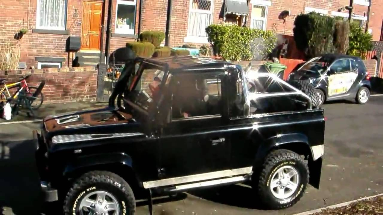 The best Land Rover Defender 90 V8 in the U.K. EVER! (also the ...