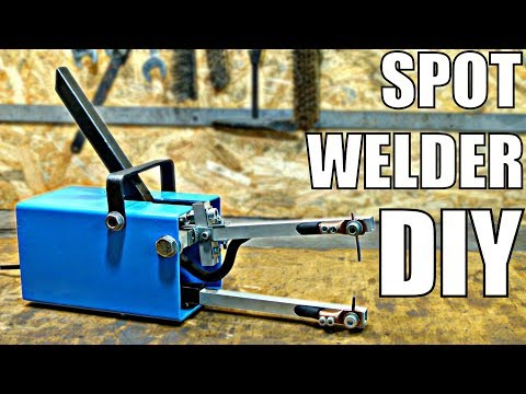 CHEAP Spot Welder DIY (using simple tools) [PLANS]