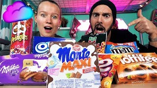 Don't Choose THE WRONG SNACK SLIME CHALLENGE Kathi VS Kaan - Wer macht den besten DIY SCHLEIM?