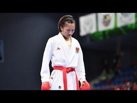 Tanpa pelatih, Karateka Sari melaju ke FINAL World Premiere League Rotterdam 2018