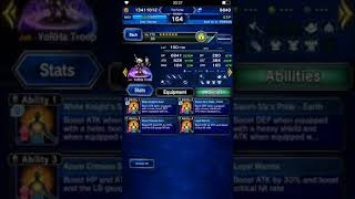 FFBE Aigaion elt in 2 turns, physical dmg kill