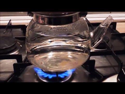 Вода для заварки ☕️ чая. Стадии нагрева и ♨️ кипения. Water For Tea Brewing.