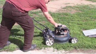 Free Mower - Bolens Carburetor Gasket and Cleaning