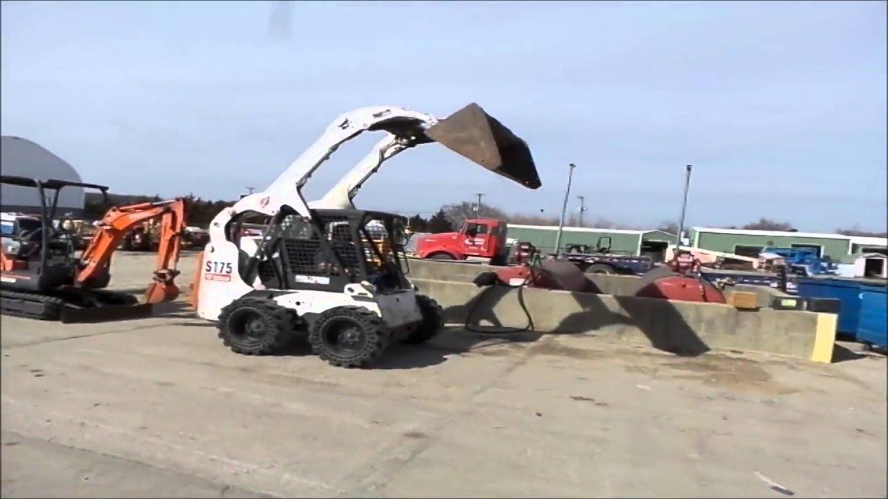 2006 Bobcat S175 skid steer for sale   no-reserve Internet auction March  31, 2016