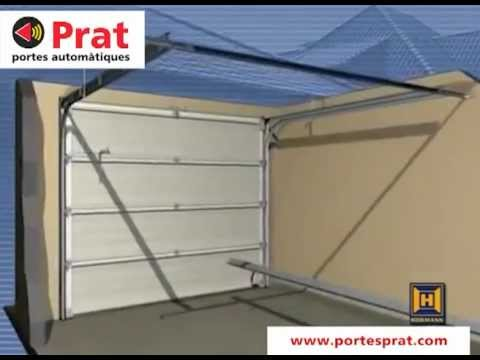 Instalaci n motor puerta de garaje prat youtube - Motor puerta garaje seccional ...