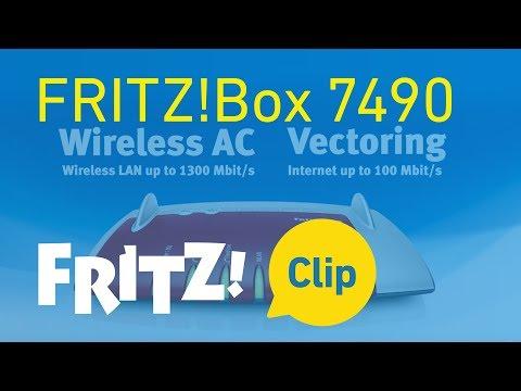 FRITZ! Clip – FRITZ!Box 7490 - najlepszy model do korzystania z Internetu, telefonii i multimediów