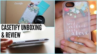 Casetify unboxing and review! | GraceKhieuVlogs