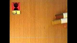 Устранение царапин cut 01(Устранение царапин на ДСП, МДФ с помощью мелкодисперсных восковых мелков. Используемый инструмент - шпател..., 2012-12-25T08:22:43.000Z)