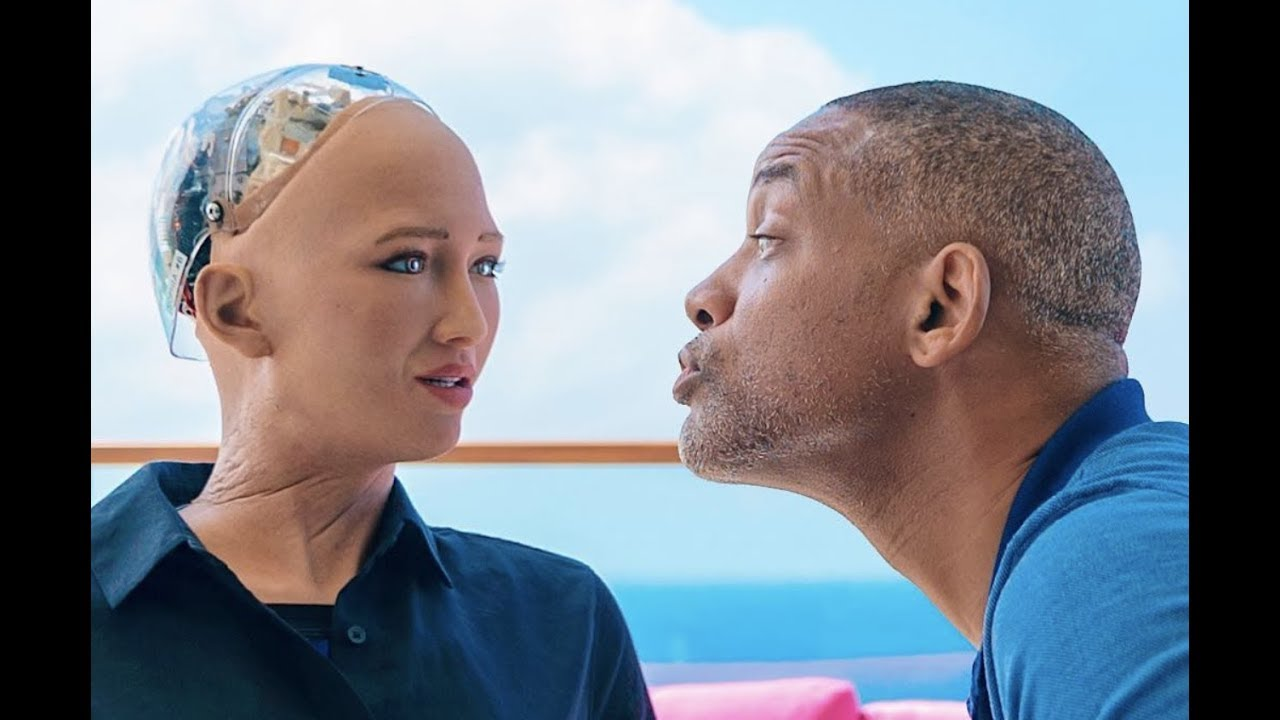 WILL SMITH WANTS TO DO IT WITH SOPHIA THE ROBOT....(TECHNOLOGY)