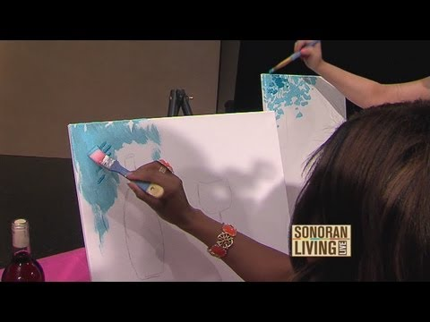 Get creative. Host a paint party, Part 1