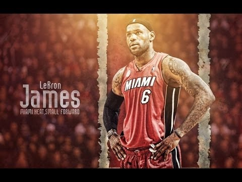 Lebron James Last Season Miami Heat Mix