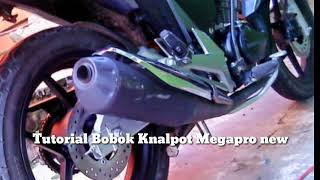 Tutorial Bobok Knalpot Honda Megapro Bobok Mantul