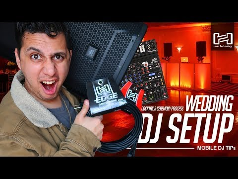 Mobile DJ Tips: How to DJ a Wedding? (Setup Tutorial)