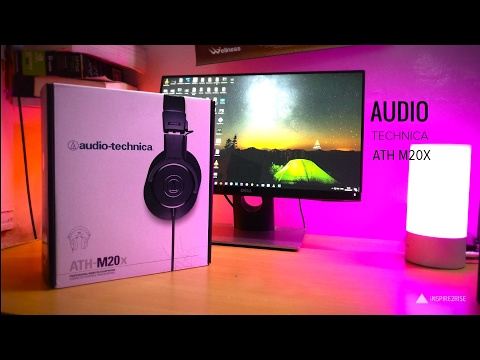 Audio Technica ATH M20X Headphones Review With Unboxing
