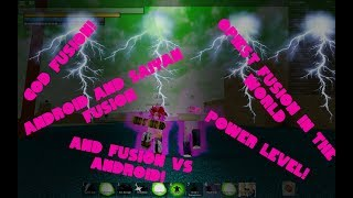 Android And Saiyan God Fusion | Dragon Ball z Final Stand | Roblox |