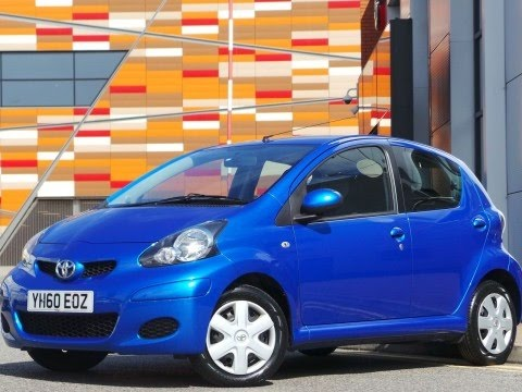 2010 60 plate toyota aygo 1 0 vvt i blue 5dr in blue youtube. Black Bedroom Furniture Sets. Home Design Ideas