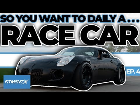 So You Want to Daily Your Race Car