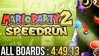 Mario Party 2 All Boards (Easy) Speedrun in 4:49:13