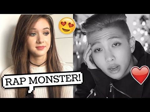 DO YOU RAP MONSTER REACTION // lovedtorch