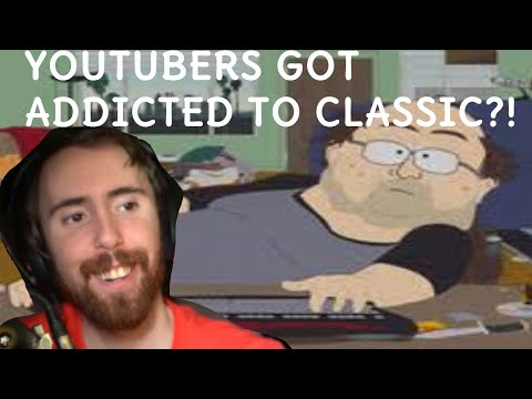 ASMONGOLD REACTS TO YOUTUBERS GETTING ADDICTED TO WOW CLASSIC