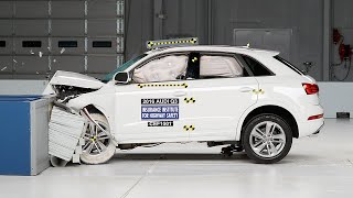 2016 Audi Q3 moderate overlap IIHS crash test