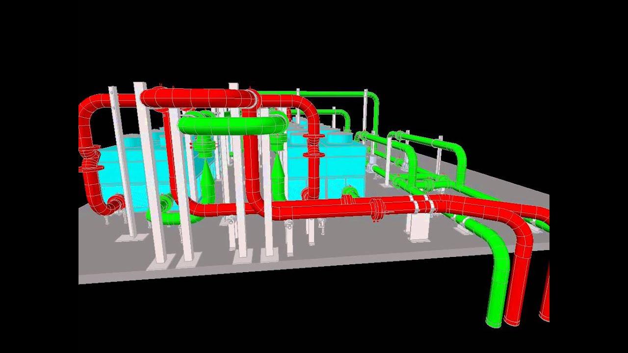 Data Center Tier Iii Mechanical Design Chiller Pump Piping Valve Layout Pumps