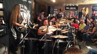"Ira Black, Carmine Appice, Vinnie Appice, Phil Soussan playing ""Mob Rules"""