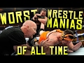 7 Worst Wwe Wrestlemania's Of All Time! video