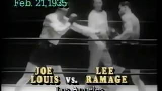 Joe Louis - career highlights