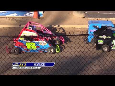 Heat Races: Bakersfield Speedway 5/12/18