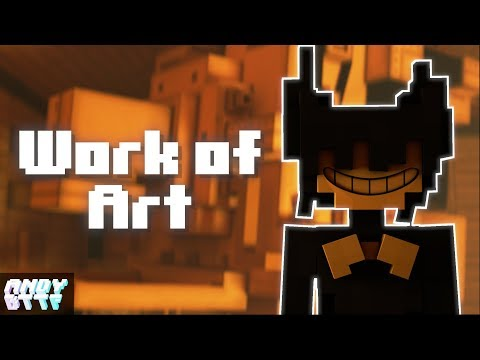 """Work Of Art"" | Minecraft BATIM Remix Lyric Video [ft. Shadrow]"