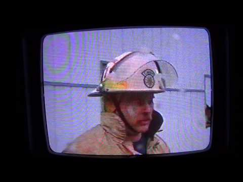 Doctor Ebb Whitley's office fire. Sad day in Iaeger WV. WVVA news segment from the mid 90's.