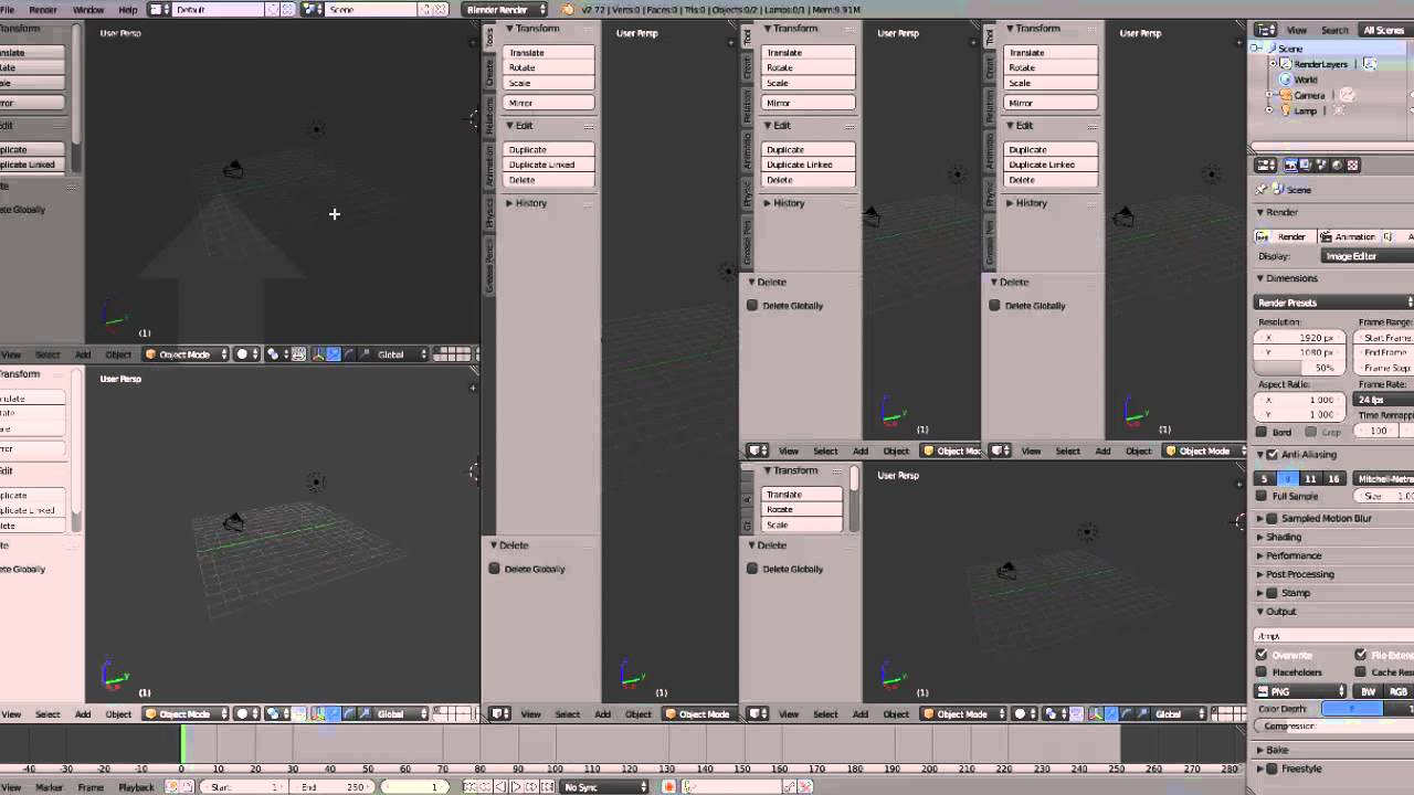 Blender Viewer Windows - How to Collapse, Join, Close Tabs in Blender