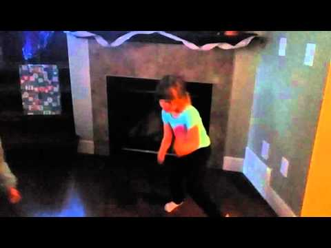 Avery Ann Enright - showing off her dance moves