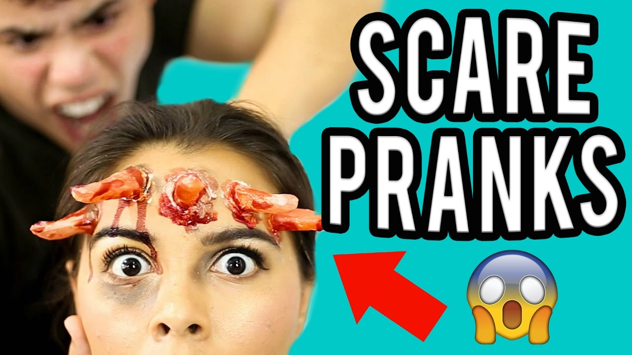 TOP 7 SCARE PRANKS FOR FRIENDS & FAMILY! NataliesOutlet - YouTube