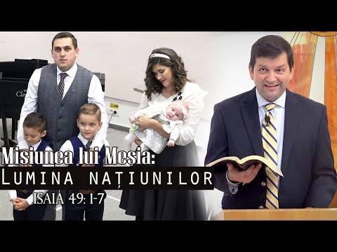 Biserica Baptistă Emanuel Timișoara - Duminica AM 08.12.2019 - Binecuvântare Teodora Rășinar