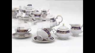 Чешский фарфор купить в Москве. Чайные сервизы Чехия(, 2011-10-13T19:31:07.000Z)