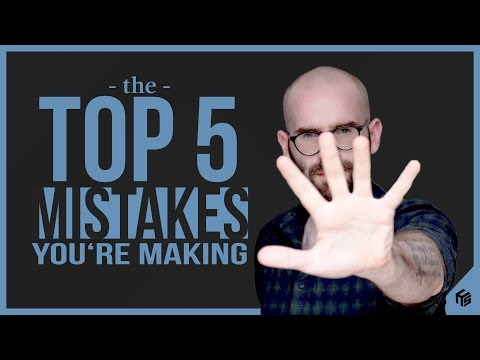 5 Songwriting Things You Are Doing Wrong