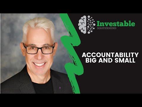 Accountability Big and Small