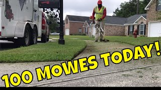 I mowed 100 lawns today but I can't show or prove it, just take my word