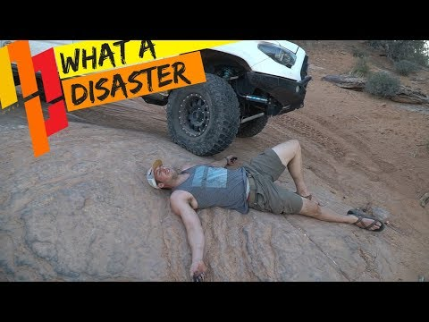 Toyota Tacoma BREAKS DOWN on The Top of the World trail!